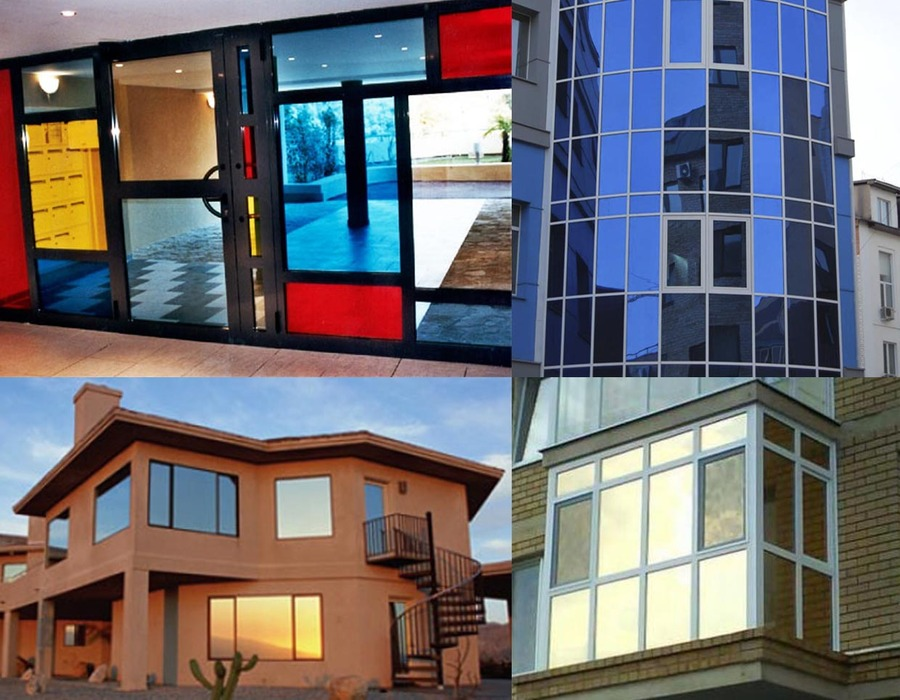 Фотогалерея - тонирование окон, лоджий, веранд, балконов.